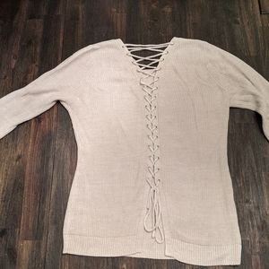 NY&Co Tie Back Sweater